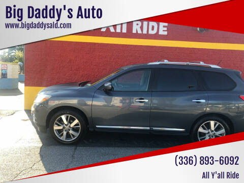 2013 Nissan Pathfinder for sale at Big Daddy's Auto in Winston-Salem NC