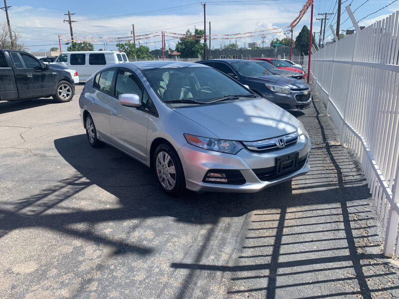 2013 Honda Insight for sale at Robert B Gibson Auto Sales INC in Albuquerque NM