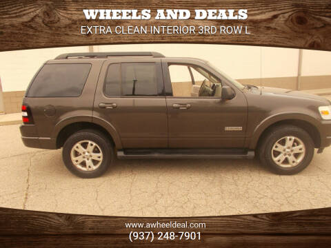 2007 Ford Explorer for sale at Wheels and Deals in New Lebanon OH