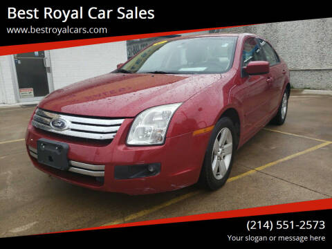 2009 Ford Fusion for sale at Best Royal Car Sales in Dallas TX
