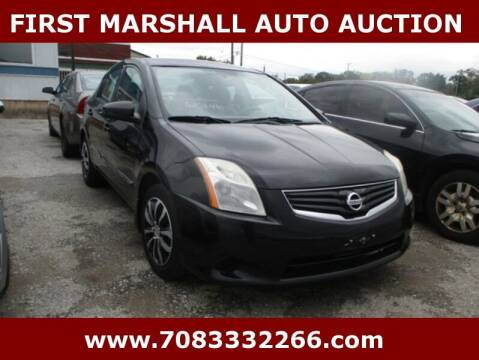 2011 Nissan Sentra for sale at First Marshall Auto Auction in Harvey IL