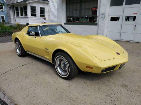 1973 Chevrolet Corvette for sale at Carroll Street Auto in Manchester NH