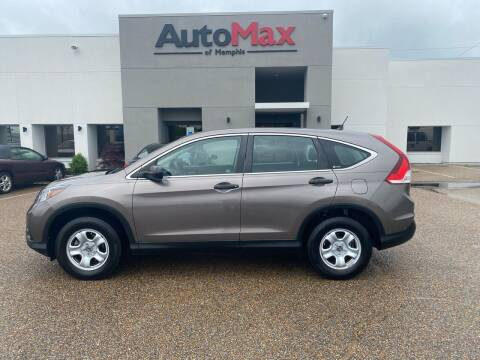 2012 Honda CR-V for sale at AutoMax of Memphis - Alex Vivas in Memphis TN