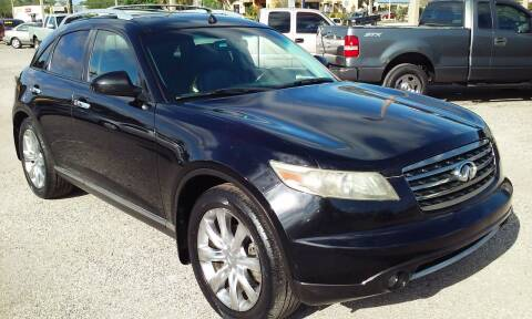 2008 Infiniti FX35 for sale at Pinellas Auto Brokers in Saint Petersburg FL