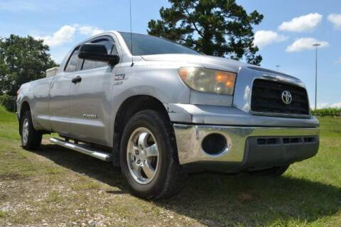 2008 Toyota Tundra for sale at WOODLAKE MOTORS in Conroe TX