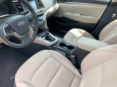 2017 Hyundai Elantra for sale at GOWHEELMART in Leesville LA