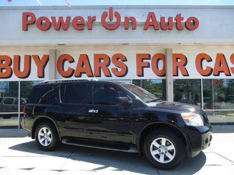 2014 Nissan Armada for sale at Power On Auto LLC in Monroe NC