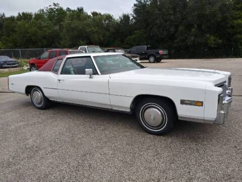 1975 Cadillac Eldorado for sale at Classic Car Deals in Cadillac MI
