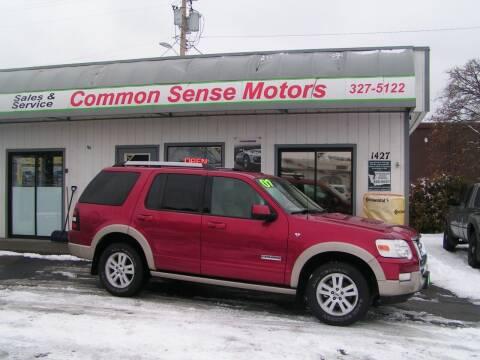 2007 Ford Explorer for sale at Common Sense Motors in Spokane WA