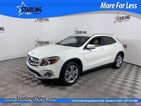 2018 Mercedes-Benz GLA for sale at Pedro @ Starling Chevrolet in Orlando FL