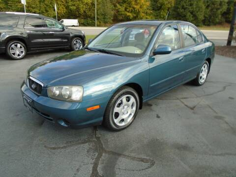 2003 Hyundai Elantra for sale at PIEDMONT CUSTOM CONVERSIONS USED CARS in Danville VA