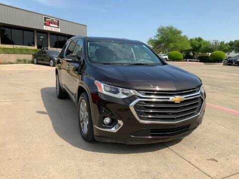 2019 Chevrolet Traverse for sale at KIAN MOTORS INC in Plano TX