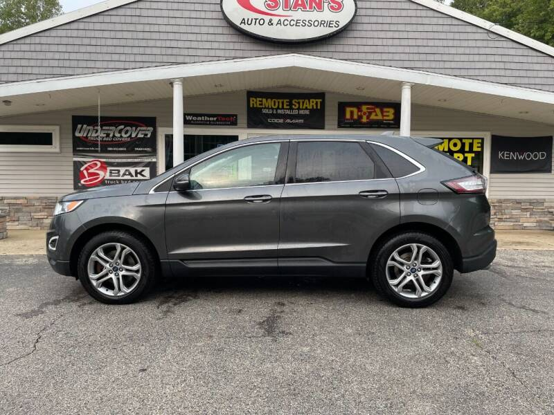 2015 Ford Edge for sale at Stans Auto Sales in Wayland MI