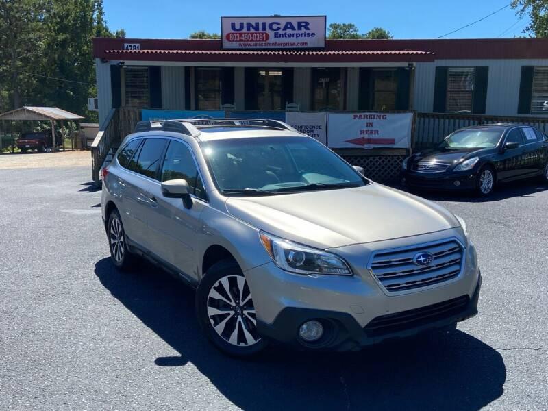 2016 Subaru Outback for sale at Unicar Enterprise in Lexington SC