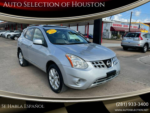 2011 Nissan Rogue for sale at Auto Selection of Houston in Houston TX