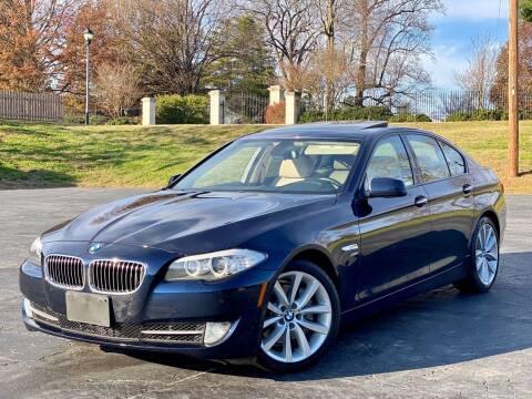 2011 BMW 5 Series for sale at Sebar Inc. in Greensboro NC
