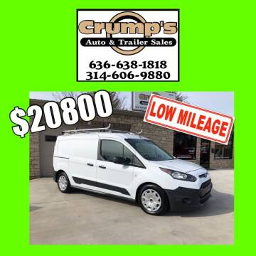 2017 Ford Transit Connect Cargo for sale at CRUMP'S AUTO & TRAILER SALES in Crystal City MO