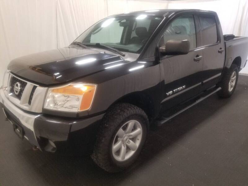 2011 Nissan Titan for sale at Rick's R & R Wholesale, LLC in Lancaster OH