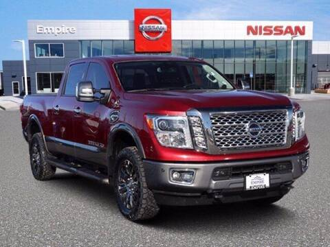 2016 Nissan Titan XD for sale at EMPIRE LAKEWOOD NISSAN in Lakewood CO
