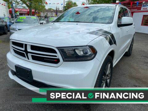 2015 Dodge Durango for sale at Best Cars R Us in Plainfield NJ