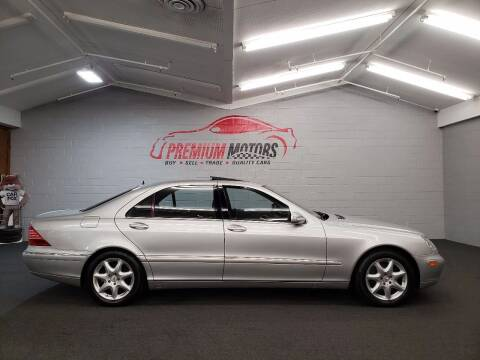 2006 Mercedes-Benz S-Class for sale at Premium Motors in Villa Park IL
