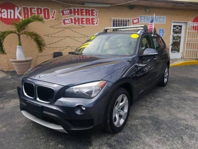 2014 BMW X1 for sale at VALDO AUTO SALES in Miami FL