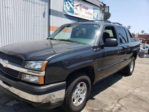 2004 Chevrolet Avalanche for sale at Gus Auto Sales & Service in Gardena CA