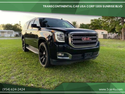 2015 GMC Yukon XL for sale at Transcontinental Car in Fort Lauderdale FL