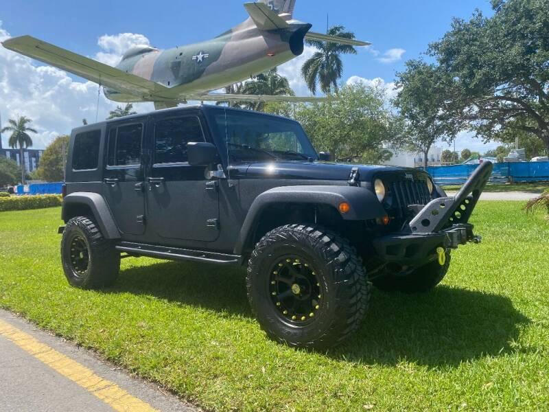 2007 Jeep Wrangler Unlimited for sale at BIG BOY DIESELS in Ft Lauderdale FL