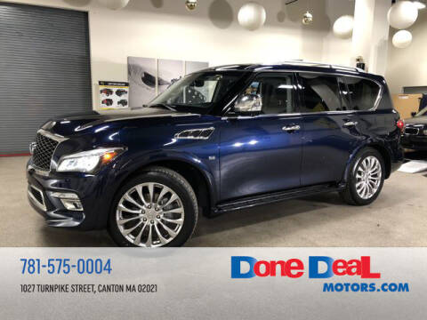 2016 Infiniti QX80 for sale at DONE DEAL MOTORS in Canton MA