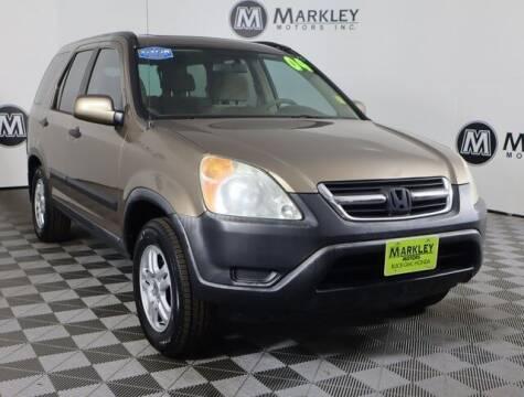 2004 Honda CR-V for sale at Markley Motors in Fort Collins CO