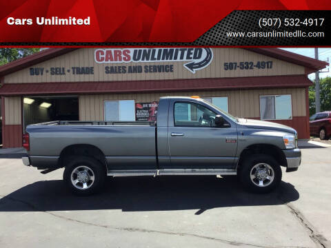 2008 Dodge Ram Pickup 2500 for sale at Cars Unlimited in Marshall MN