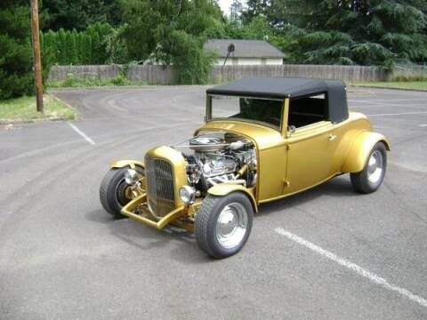 1932 Ford Cabriolet  for sale at Classic Car Deals in Cadillac MI