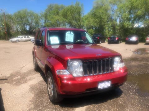 2008 Jeep Liberty for sale at BARNES AUTO SALES in Mandan ND