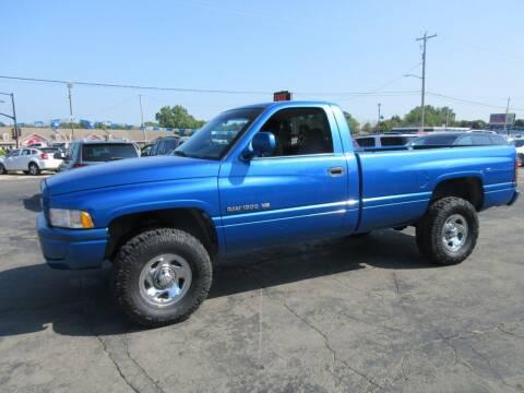 1998 Dodge Ram Pickup 1500 for sale at Fox River Motors, Inc in Green Bay WI