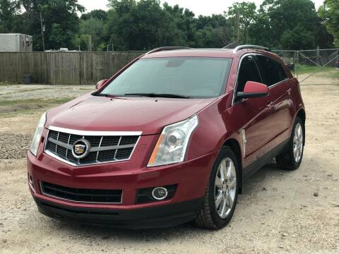 2012 Cadillac SRX for sale at Preferable Auto LLC in Houston TX