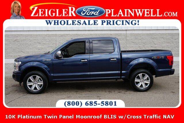 2019 Ford F-150 for sale at Zeigler Ford of Plainwell- Jeff Bishop in Plainwell MI