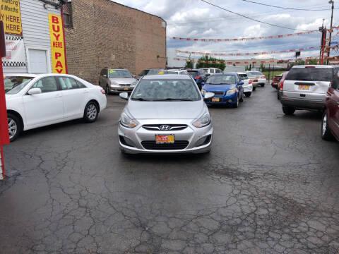 2014 Hyundai Accent for sale at RON'S AUTO SALES INC in Cicero IL