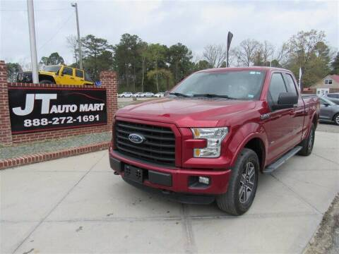 2015 Ford F-150 for sale at J T Auto Group in Sanford NC