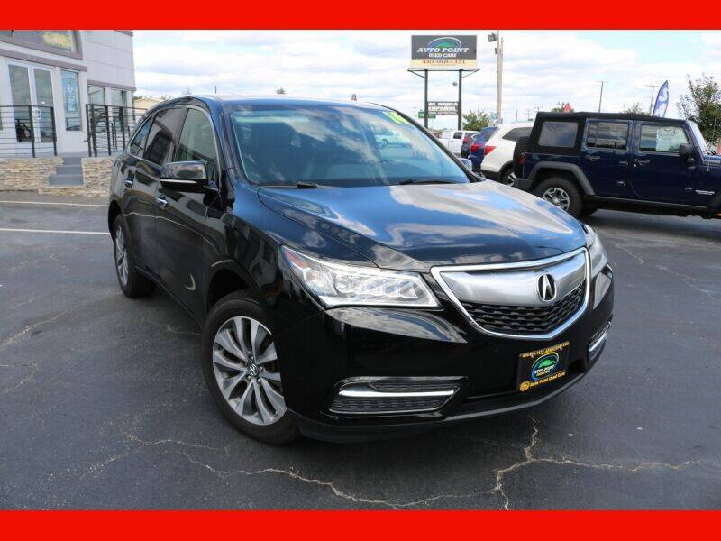2014 Acura MDX for sale at AUTO POINT USED CARS in Rosedale MD