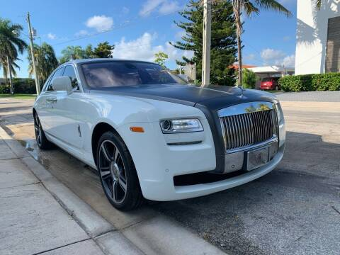 2011 Rolls-Royce Ghost for sale at America Auto Wholesale Inc in Miami FL