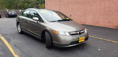 2007 Honda Civic for sale at Exxcel Auto Sales in Ashland MA