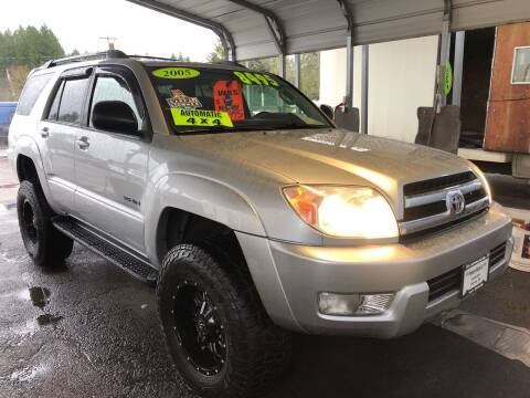 2005 Toyota 4Runner for sale at Freeborn Motors in Lafayette, OR