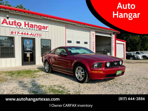2006 Ford Mustang for sale at Auto Hangar in Azle TX
