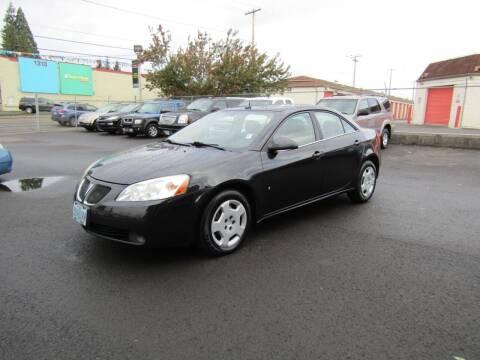 2008 Pontiac G6 for sale at ARISTA CAR COMPANY LLC in Portland OR