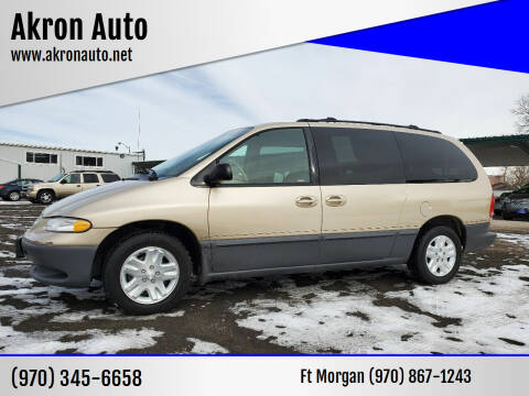 1998 Dodge Grand Caravan for sale at Akron Auto in Akron CO