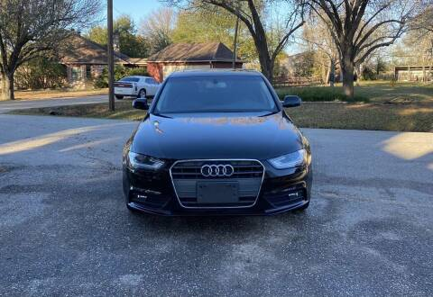 2013 Audi A4 for sale at CARWIN MOTORS in Katy TX