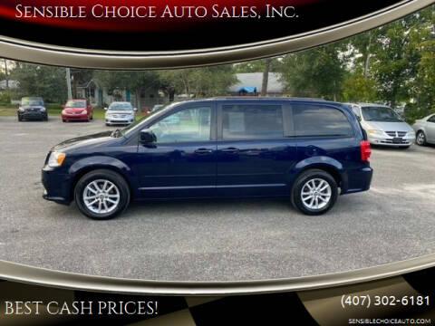2014 Dodge Grand Caravan for sale at Sensible Choice Auto Sales, Inc. in Longwood FL