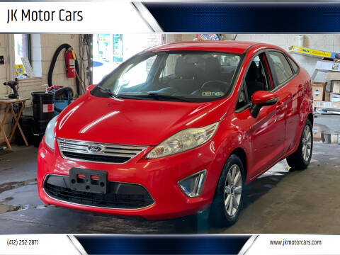 2012 Ford Fiesta for sale at JK Motor Cars in Pittsburgh PA