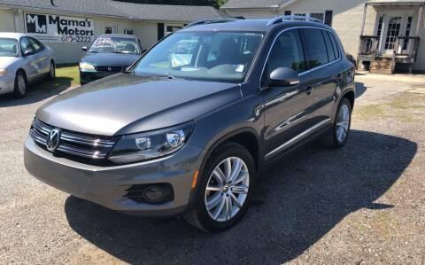 2013 Volkswagen Tiguan for sale at Mama's Motors in Greer SC